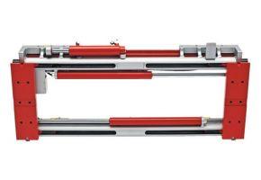 Durwen Zinkenverstellgerät Typ RZV-S 110, FEM 4, Tragkraft 8000 kg bei LSP 1100 mm